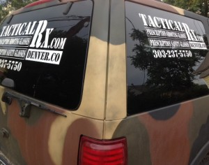 Tactical Rx truck. Honk when you see it.